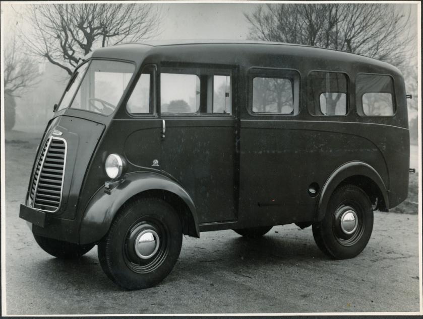 1954 Morris J Type Double 6