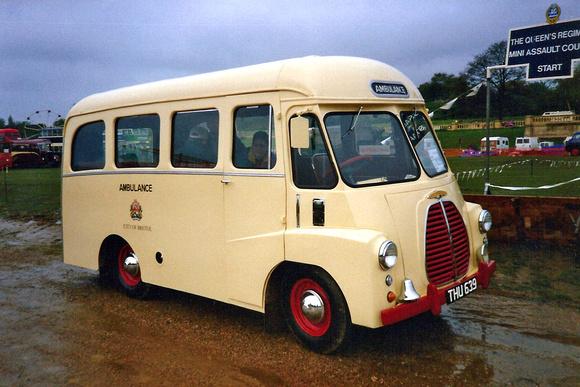 1954 Morris LD1 ambulance THU639