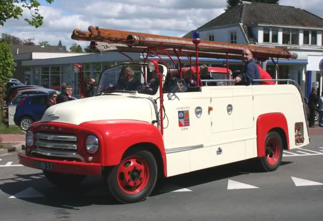 1954 Opel Blitz Feuerwehr