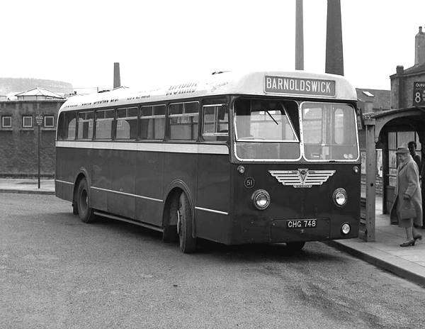 1954 Park Royal B44F bodied AEC Monocoach