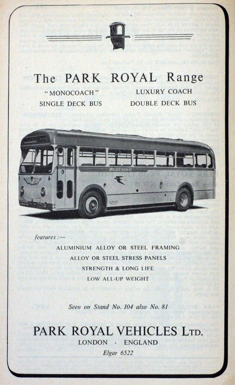 1954 Park Royal
