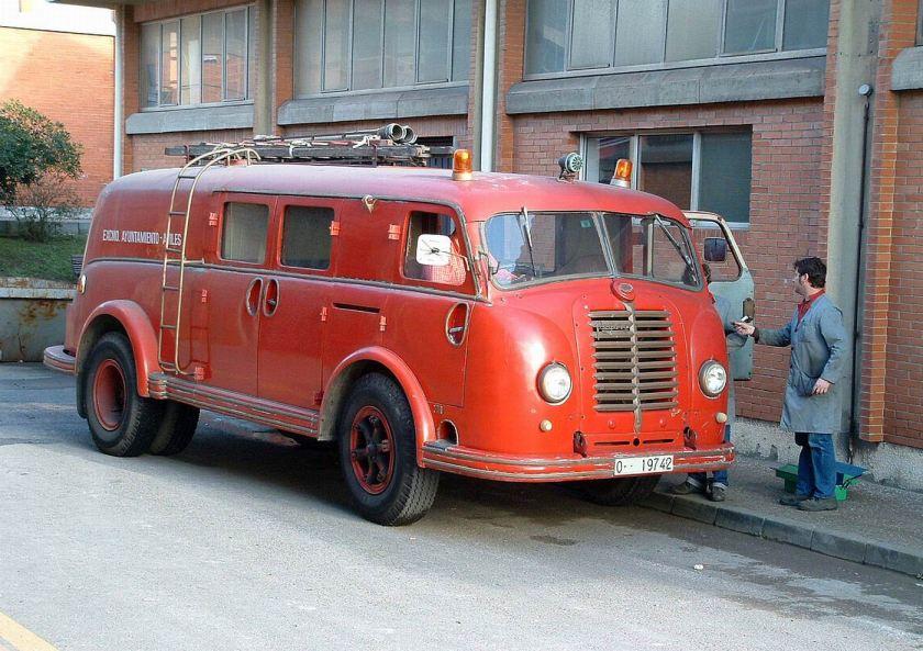 1954 Pegaso Z 408 D