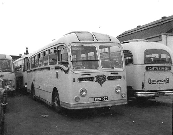 1955 AEC Reliance with Park Royal Royalist C41C