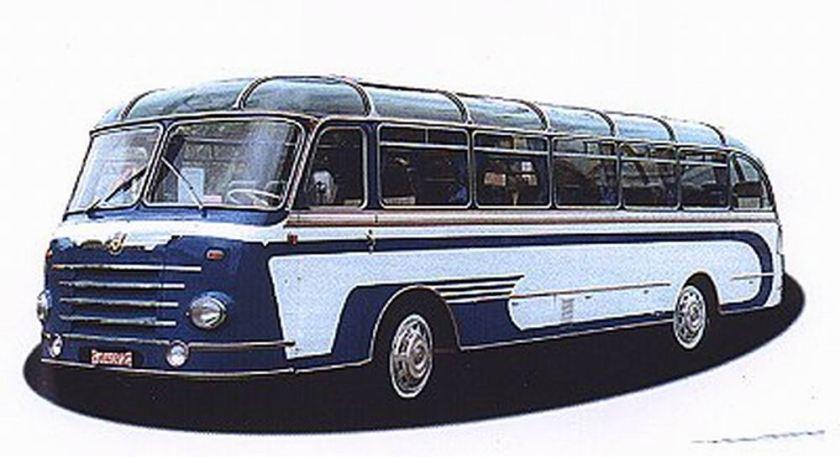 1955 Auwärter Neoplan SH 8 Diesel 6 cyl  6130cc