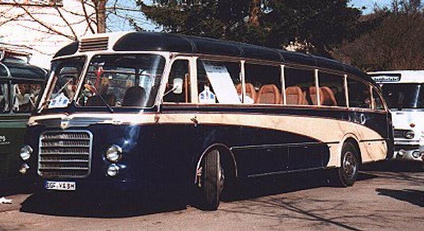 1955 Auwärter-NEOPLAN   SH30 Schweizer- Form 6139cc