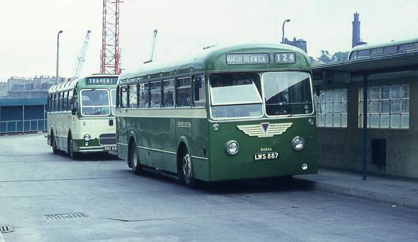 1955 EC Monocoach MC3RV with B45F bodywork by Park Royal.