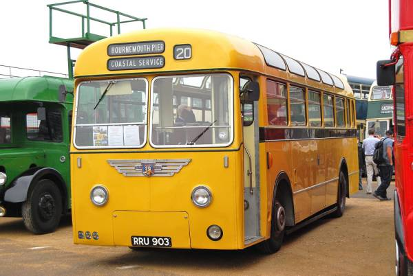 1955 Leyland PSUC1-1 Tiger Cubs with Park Royal B41D body