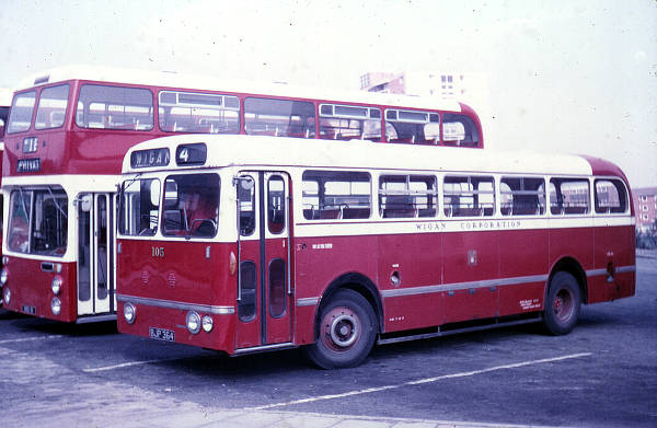 1955 Leyland Royal Tiger PSU1-13 with Northern Counties B43F bodywork