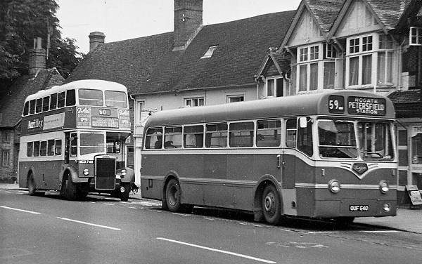 1955 Leyland Tiger Cub PSUC1-1 with a Park Royal B39F body
