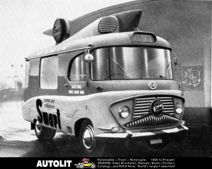 1955 OM Leoncino Angelo Orlandi Smart Van