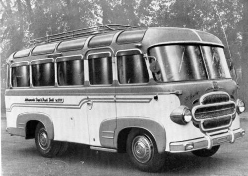 1955 OM Leoncino Bartoletti GT Bus