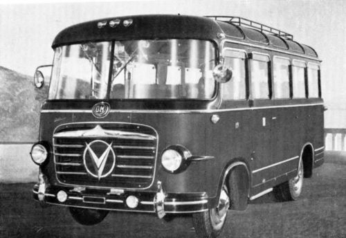 1955 OM Leoncino Dalla Via GT Bus