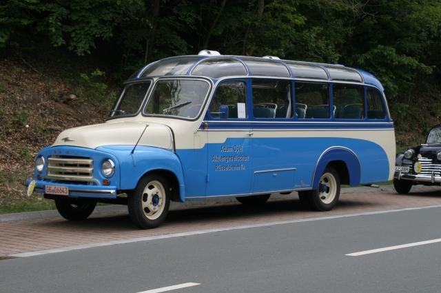 1955 Opel Blitz 1,75to Typ 330 Panoramabus der Adam Opel AG