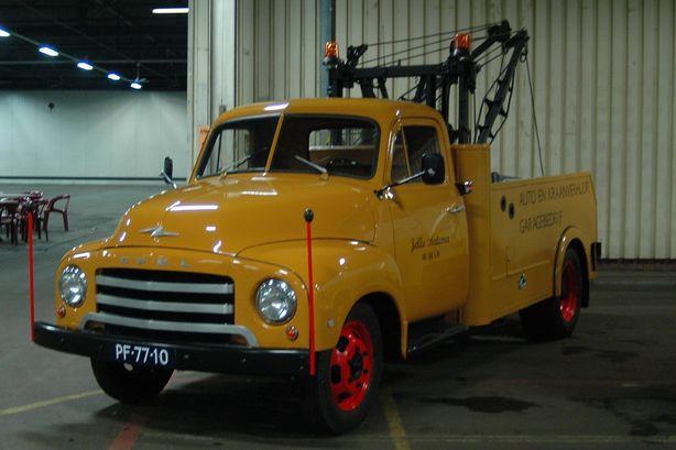 1955 Opel Blitz Kraanwagen