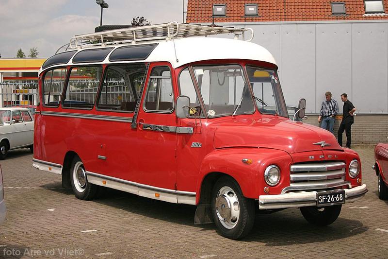 1955 Opel Blitz SF 26 68a
