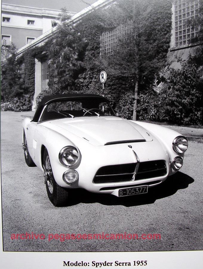 1955 Pegaso Spyder Serra