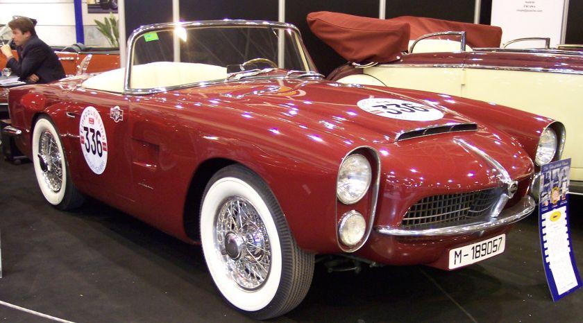1955 Pegaso Z-102 Cabriolet