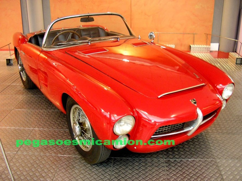 1955 Pegaso Z-102 Spider Serra Prototipo