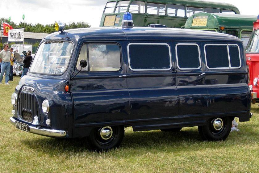 1956-67 Morris J2 van mfd 1957 1489cc police livery