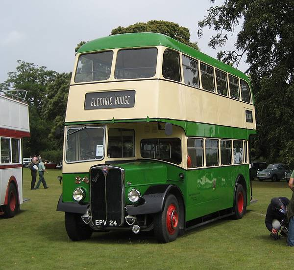 1956 AEC Regent III 24, EPV24, with a Park Royal H33-28R body