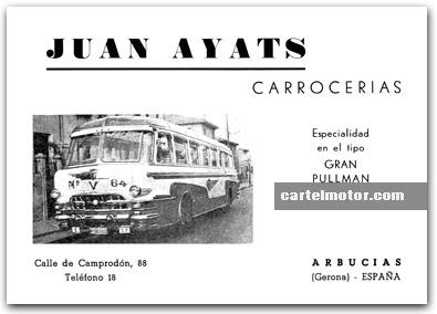1956 AYATS BUS (PEGASO)