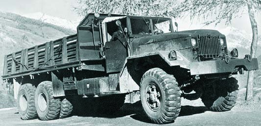 1956 ОМ-6600 (СР56), 6x6