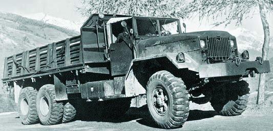1956 ОМ-6600 (СР56), 6x6