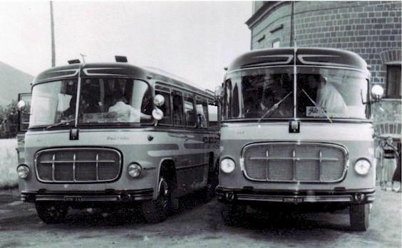 1956 e 1958 Fiat 642 Orlandi SA 28158 - SA 31949