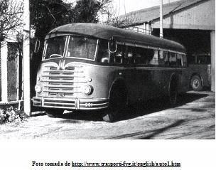 1956 FIAT 682RN carrozado por Carrozzeria Orlandi, Talleres Padane