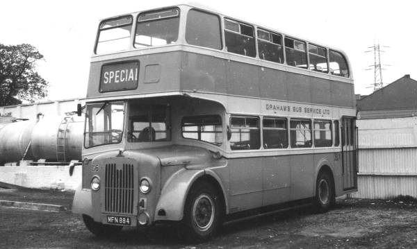 1956 Guy Arab IVs with Park Royal H33-28RD bodywork