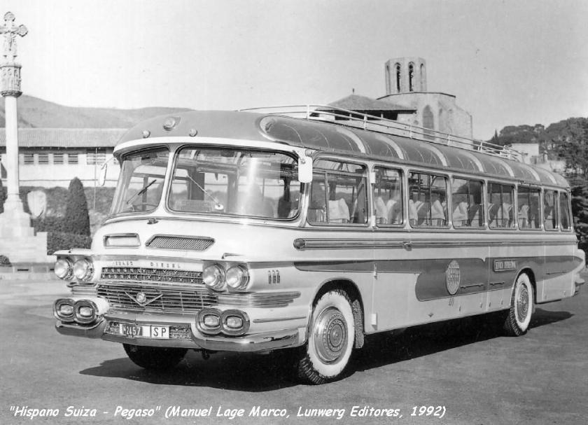 1956 Hispano Suiza Pegaso a