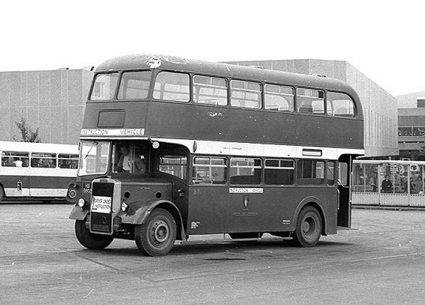 1956 Leyland Titan PD2-12 with Park Royal H33-28R bodywork