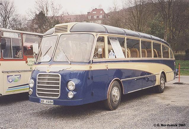 1956 Neoplan SH 30 Stromlinienbus