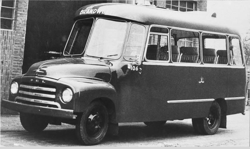 1956 Nr-106 Opel Blitz-2500  12 pers. autobus 19-03-56--10-09-64(2)