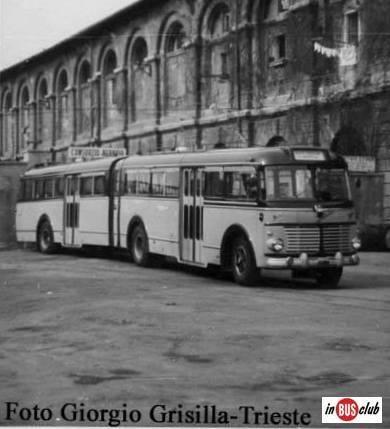 1956 OM Super Orione Viberti TS 23779 SAP Trieste 6 1956