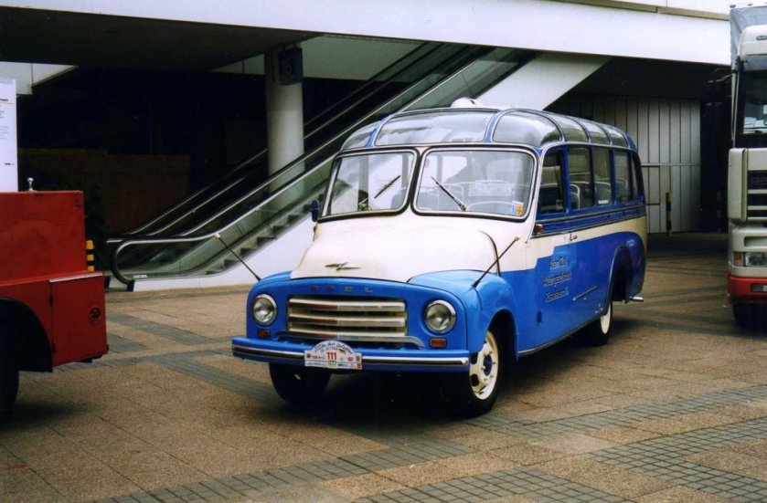 1956 Opel Blitz auf der IAA 1998 in Hannover
