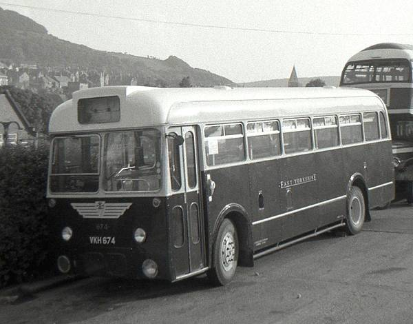 1957 Albion Aberdonian MR11Lwith a Park Royal B39F body