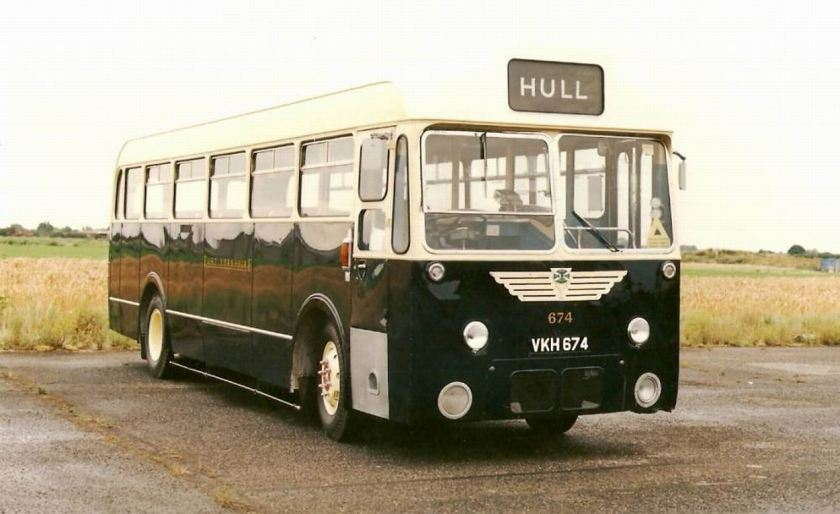 1957 Albion Aberdonian with Park Royal body