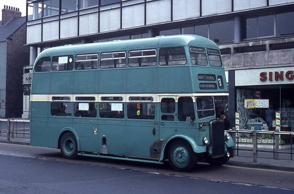 1957 Leyland Titan PD2-12 with Northern Counties H33-28R bodywork