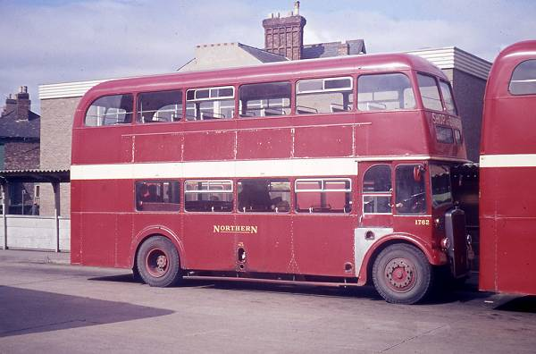 1957 Leyland Titan PD2-12 with Park Royal H35-28RD bodywork