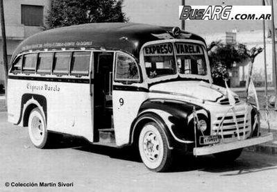 1957 Morris Agosti Express Varela