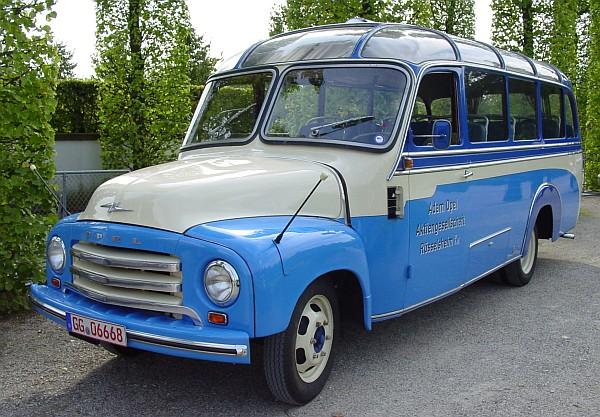 1957 Opel Blitz Panoramabus