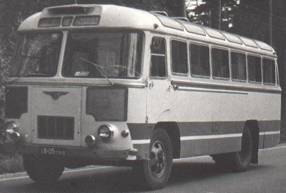 1958-68 PAZ 652 23s 42p 4x2 a