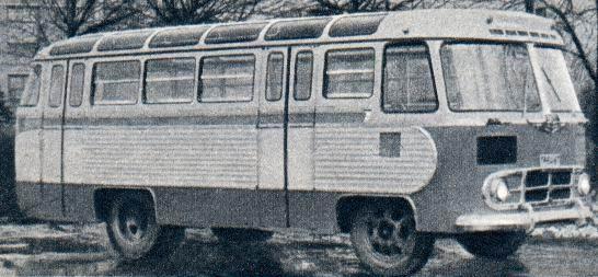 1958-68 PAZ 652 23s 42p 4x2