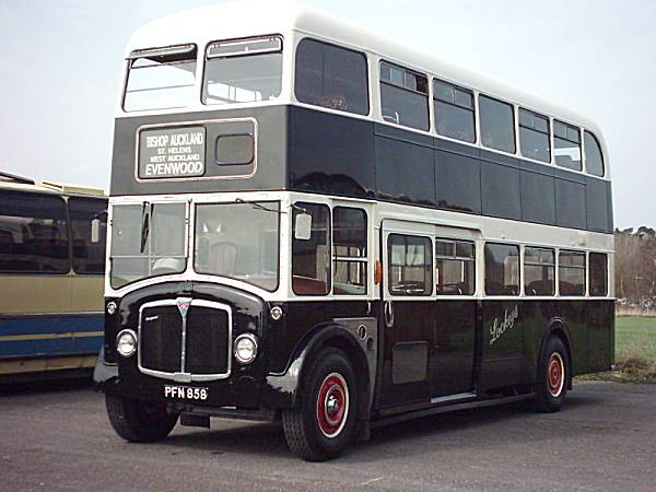 1958 AEC Regent V with Park Royal FH72F body