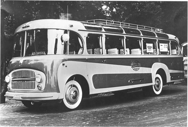 1958 Autobus da turismo carrozzeria Padana