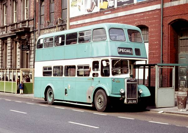 1958 Guy Arab IV with Northern Counties L27-28R bodywork
