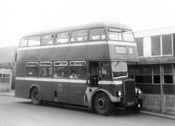 1958 Leyland Titan PD2-40 with Northern Counties body