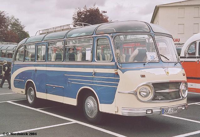 1958 Neoplan NH 6 7 Reisebus