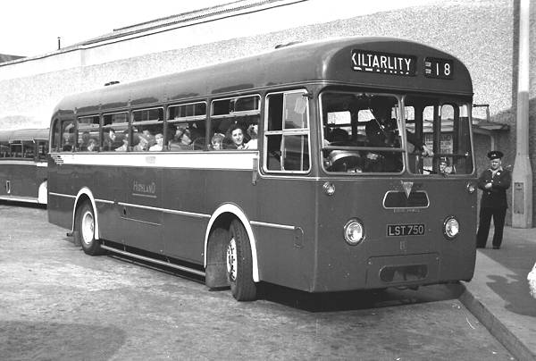 1958 Park Royal DP41F bodied AEC MU3RV Reliance